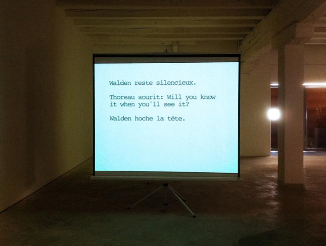 exhibition view at Galerie Gourvennec Ogor, Marseille